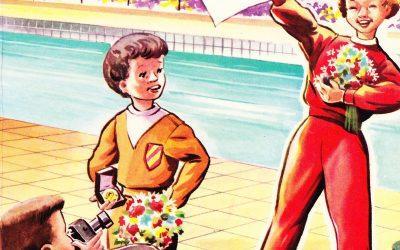 Sandra wordt Olympisch kampioene! – Hans van Stratum (1957)
