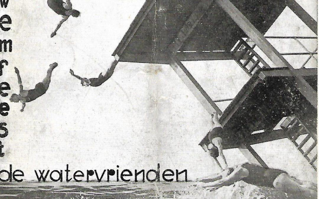 Programma van het Internationaal Zwemfeest op zondag 19 april 1931 (1931)